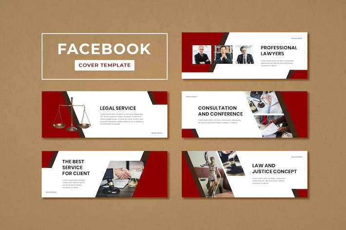 Thumbnail for Facebook Cover Template Legal Service