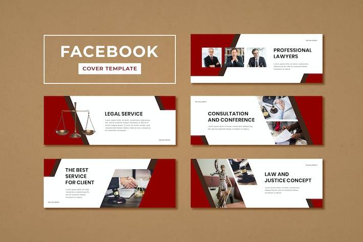 Facebook Cover Template Legal Service