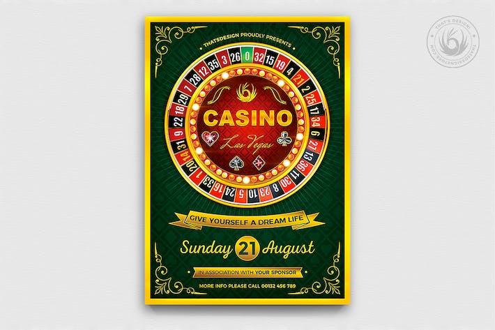 Thumbnail for Casino Flyer Template V2
