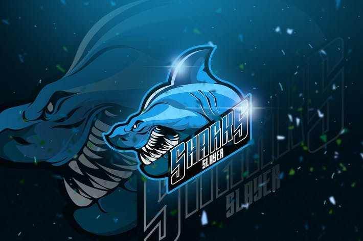 Thumbnail for Shark - Mascot & Esport Logo
