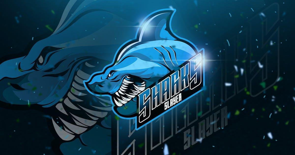 Download Shark - Mascot & Esport Logo by aqrstudio