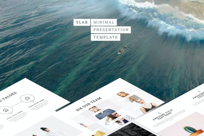Cover Image For Slab - Powerpoint Template