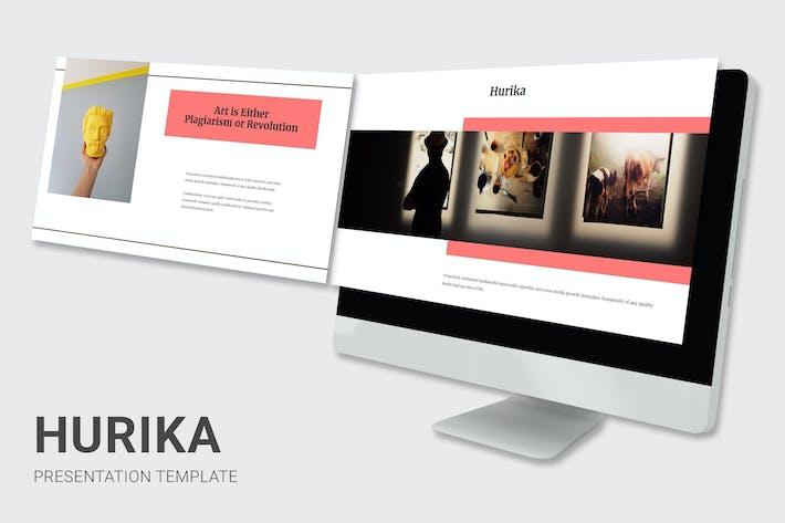 Thumbnail for Hurika - Art Gallery Google Slides
