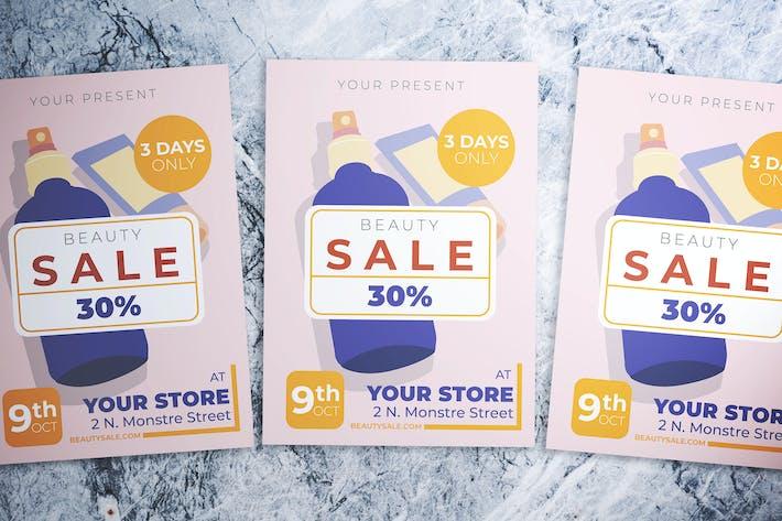 Thumbnail for Beauty Sale Flyer