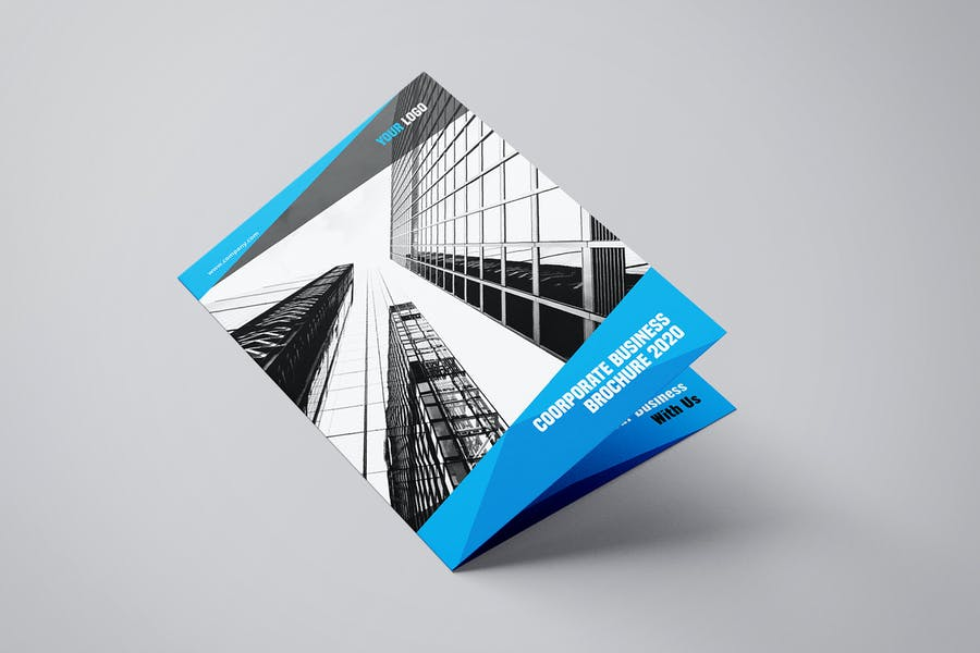 Byfold - A4 Company Bifold Brochure Template