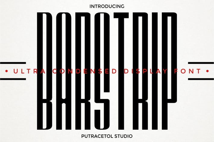 Thumbnail for BARSTRIP - Ultra Condensed