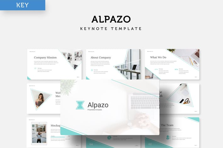 Thumbnail for Alpazo - Keynote template