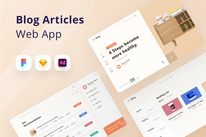 Blog Articles Web App