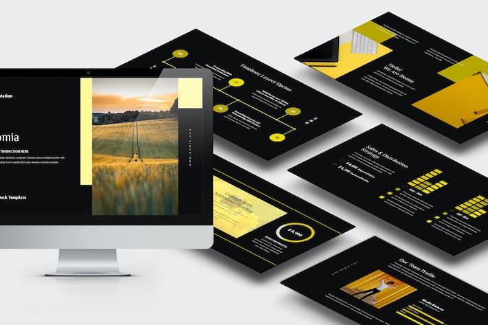 Thumbnail for Domia: Keynote ка колодки желтого цвета тона