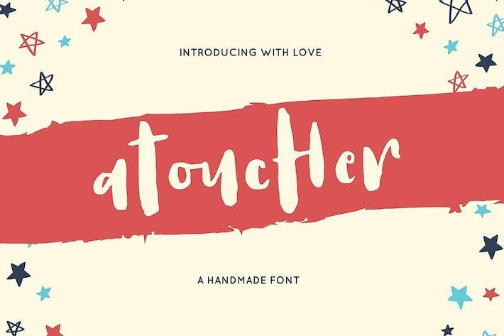 Atoucher Love Font + Webfonts