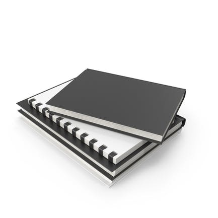 Stack Of Journals And Books