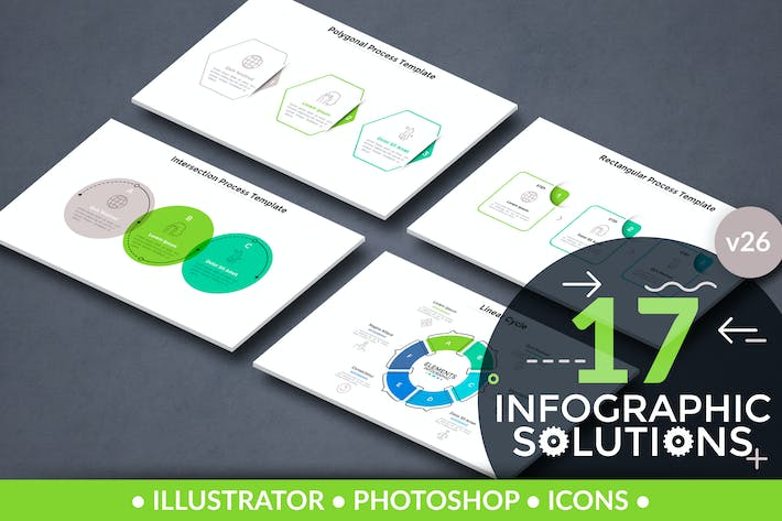 Thumbnail for Infographic Solutions. Part 26