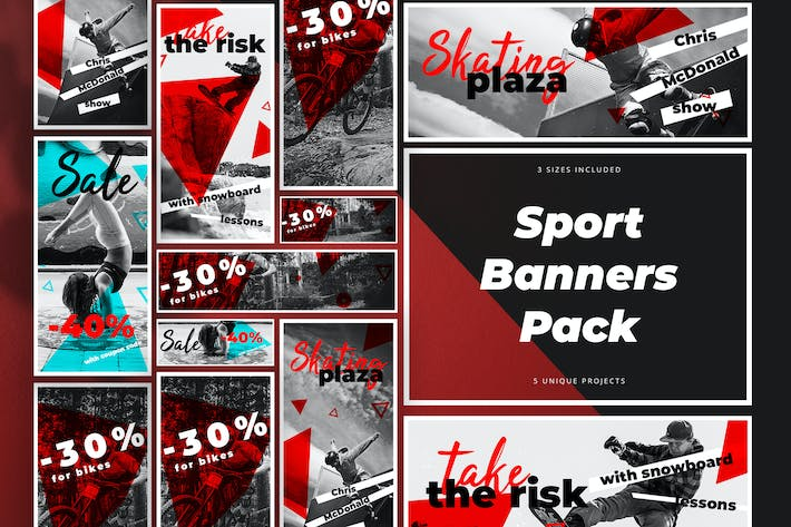 Thumbnail for Sport Banners Pack