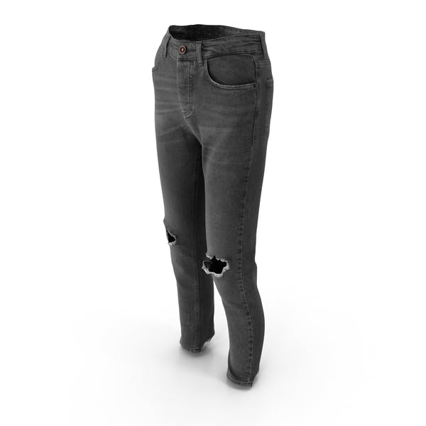 Женские джинсы Темно-серый