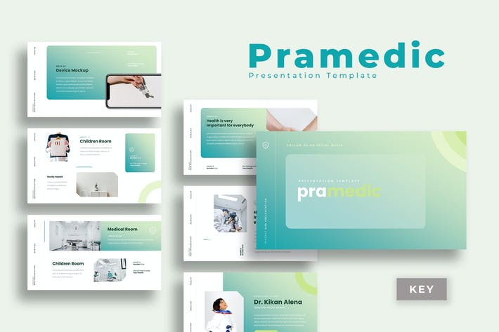 Thumbnail for Pramedic - Шаблон презентации медицины