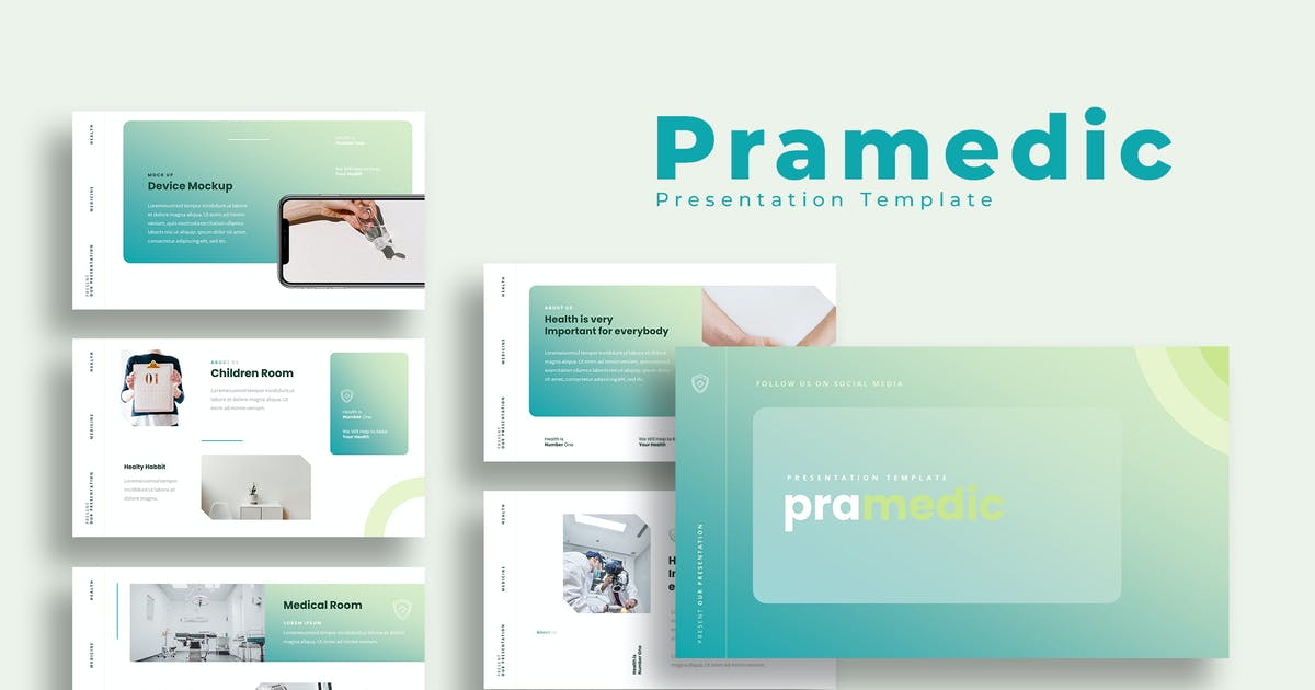Download Pramedic - Medicine Presentation Template by irfanaffian