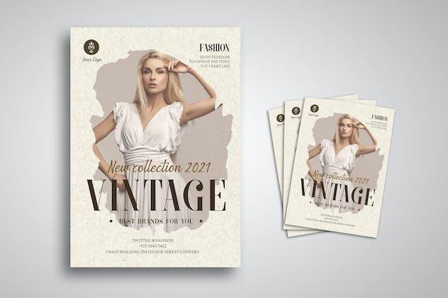 Vintage Fashion Flyer