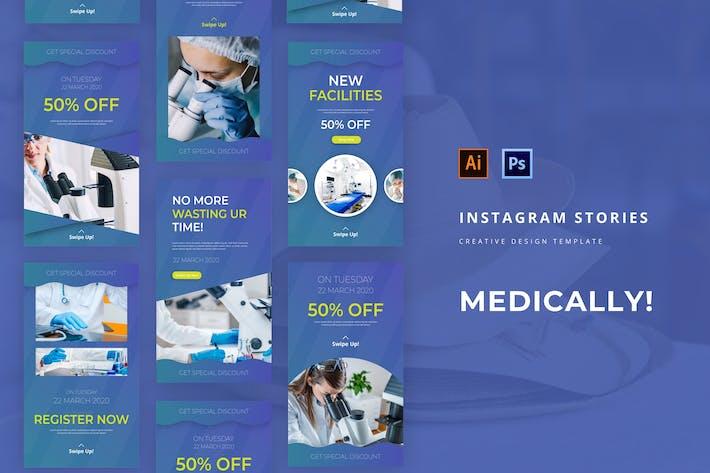 Thumbnail for Medical Instagram Story-Vorlage