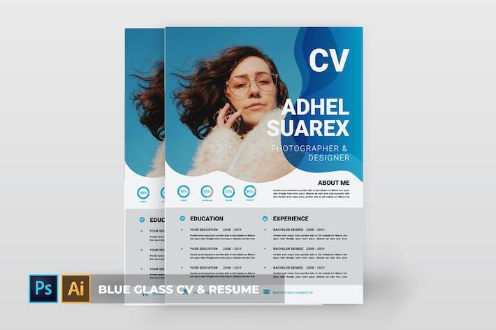 Thumbnail for Blue Glass | CV & Resume