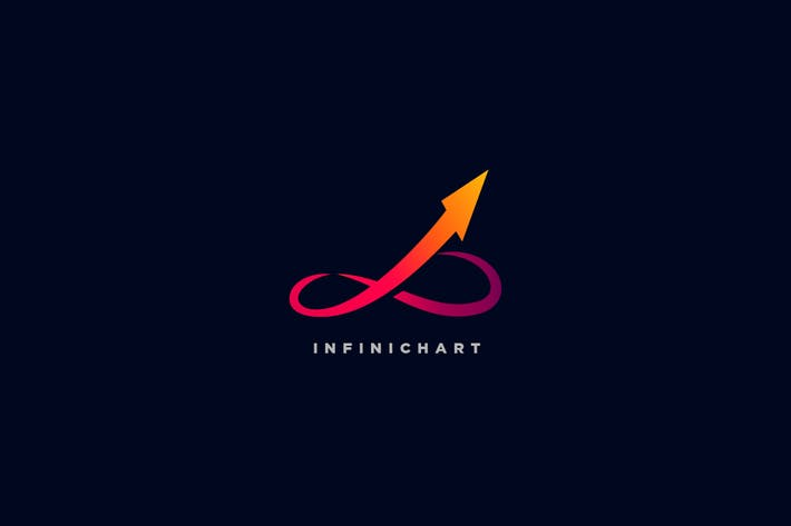 Thumbnail for InfiniChart - Infinity & Chart Logo