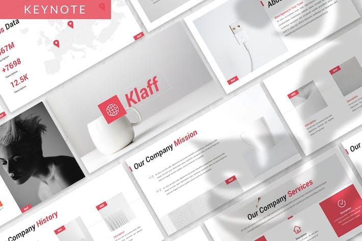 Thumbnail for Klaff - Business Keyote Template