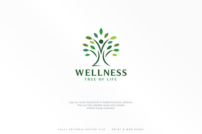 Thumbnail for Wellness Tree Logo