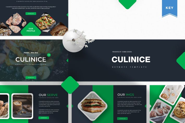 Thumbnail for Culinice | Keynote Template