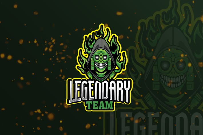 Legendary Mascot & eSports Gaming Logo