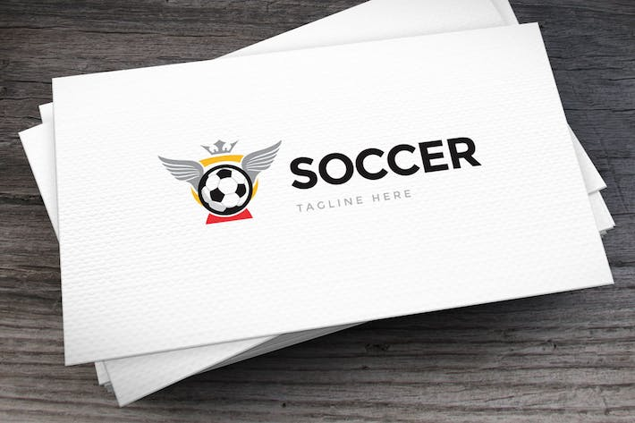 Cover Image For Soccer Cup Logo Template