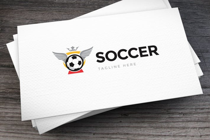 Thumbnail for Soccer Cup Logo Template