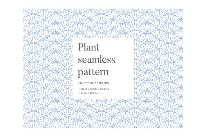 Thumbnail for Plant seamless pattern