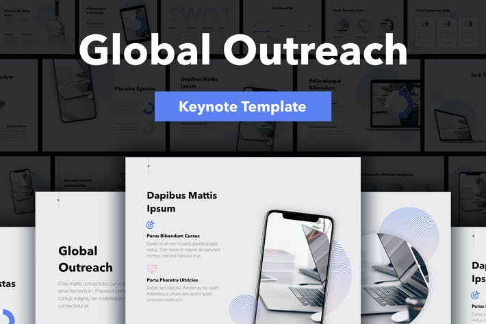 Thumbnail for Global Outreach Keynote Template