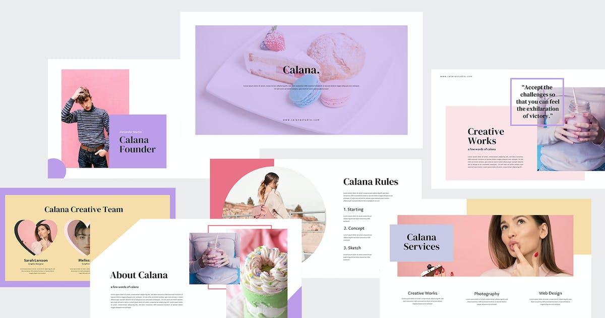 Download Calana - Cakes Keynote Template by eunavia