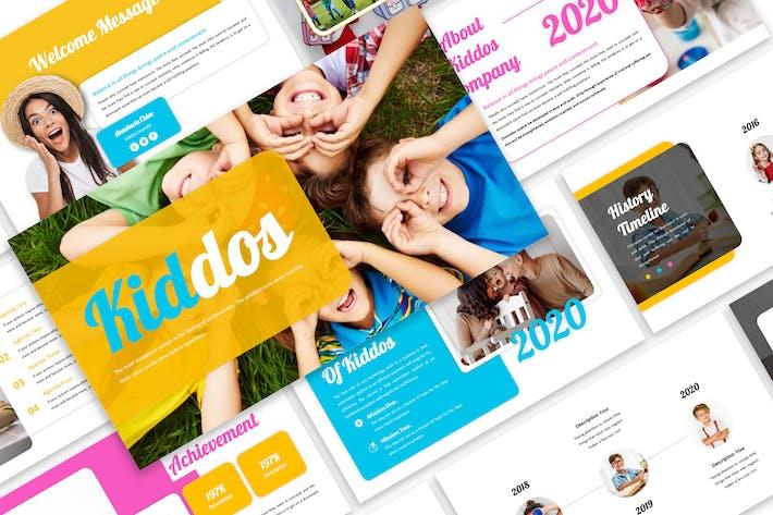 Thumbnail for Kiddos - Презентация бизнес-Шаблон
