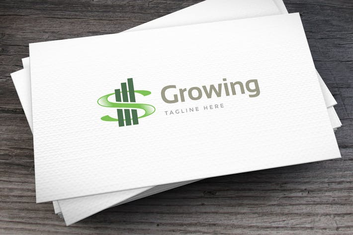 Growing Logo Template