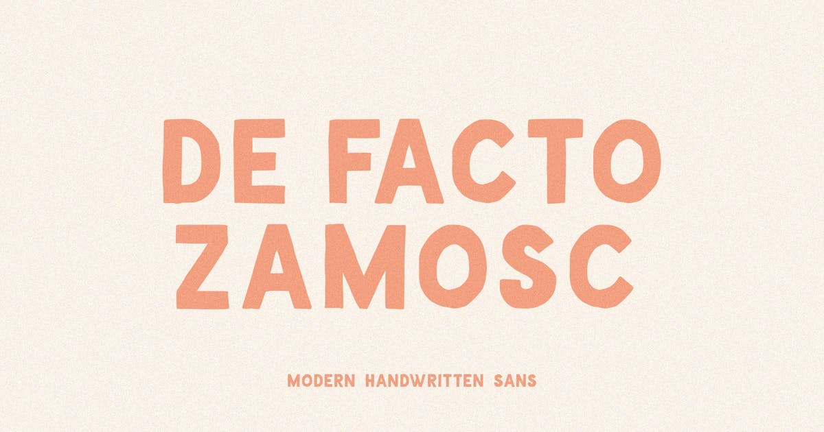 Download De Facto Zamosc Font by sameehmedia