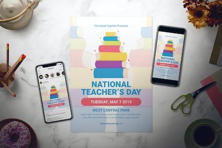 National Teacher's Day Flyer