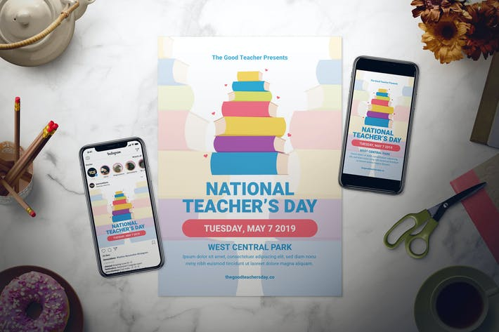 Thumbnail for National Teacher's Day Flyer