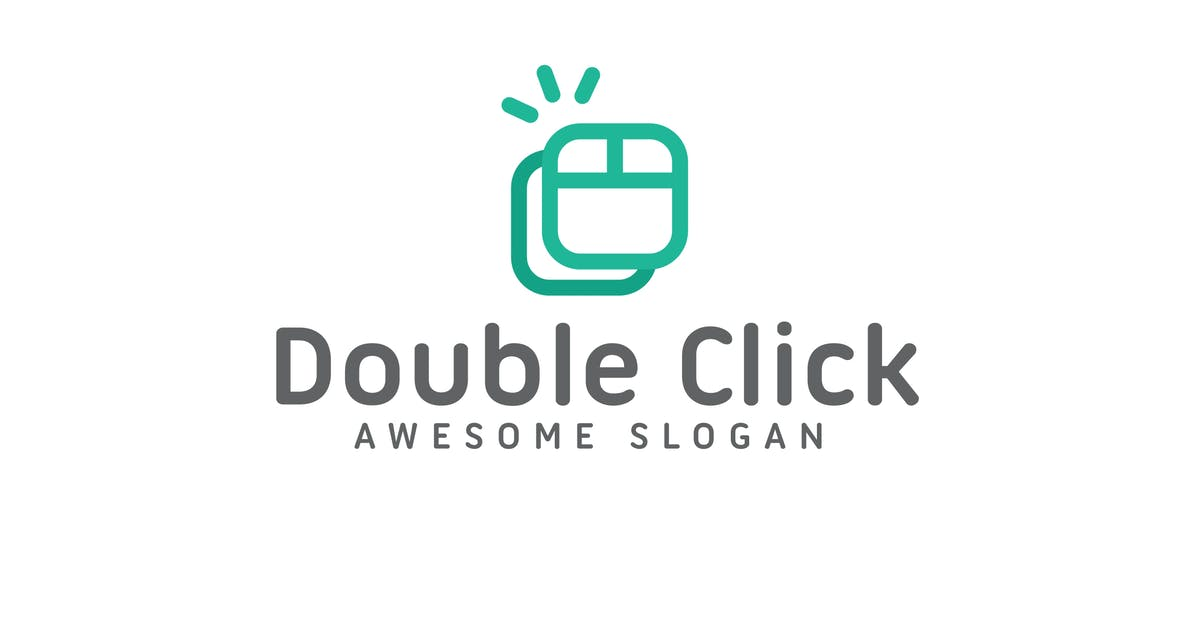 Download Double Click Logo Template by hoanglam1607