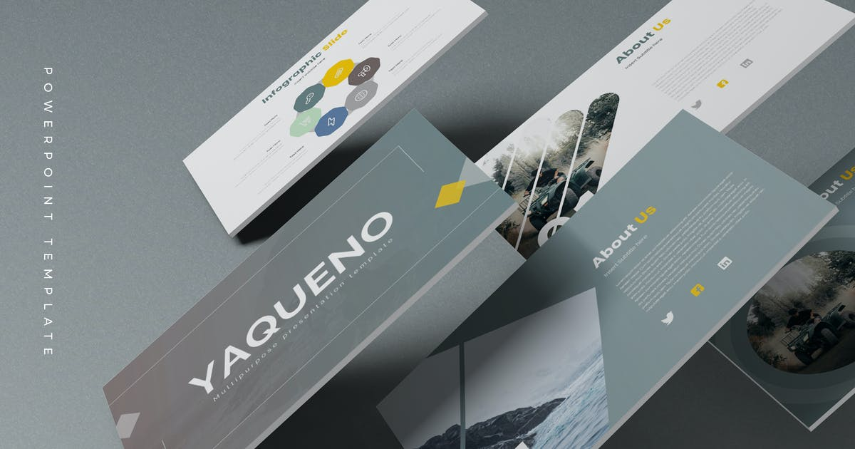 Download Yaqueno - Powerpoint Template by aqrstudio