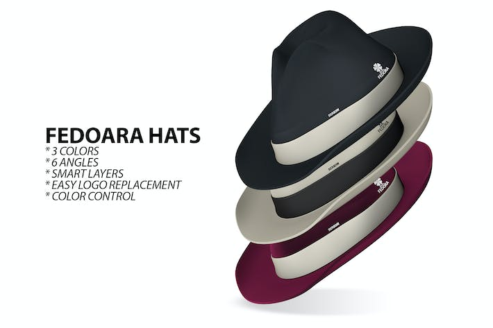 Thumbnail for Fedora Hats Logo Placeholders