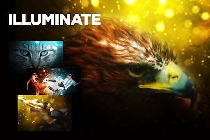 Illuminate CS3+ Photoshop Action