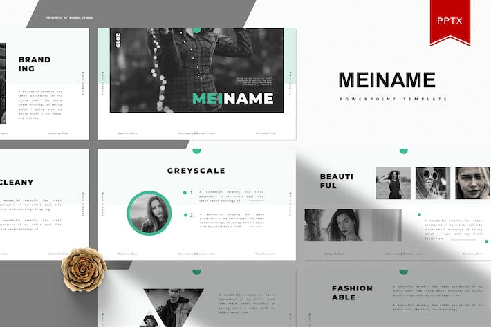 Thumbnail for Meiname |  Powerpoint Template