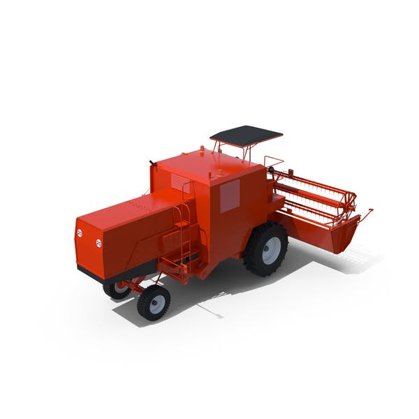 Thumbnail for Open-Cab Combine Harvester