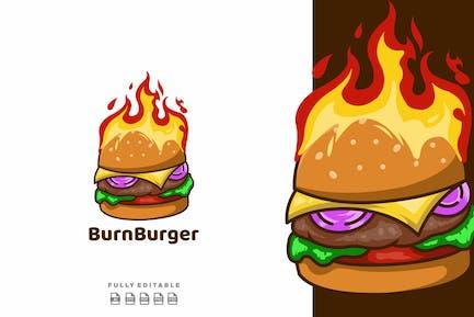 Burn Hot Burger Logo