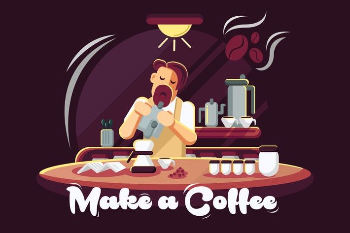 Cover Image For Make a Coffee