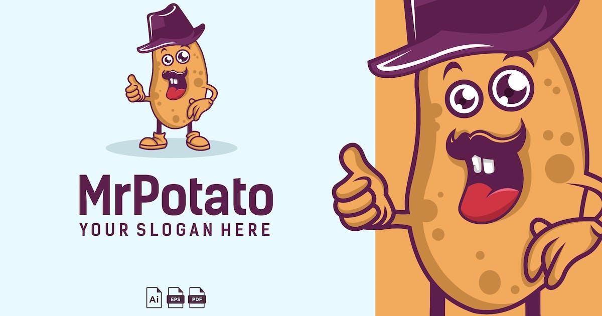 Potato Logo Design vol 6.5 by GranzCreative