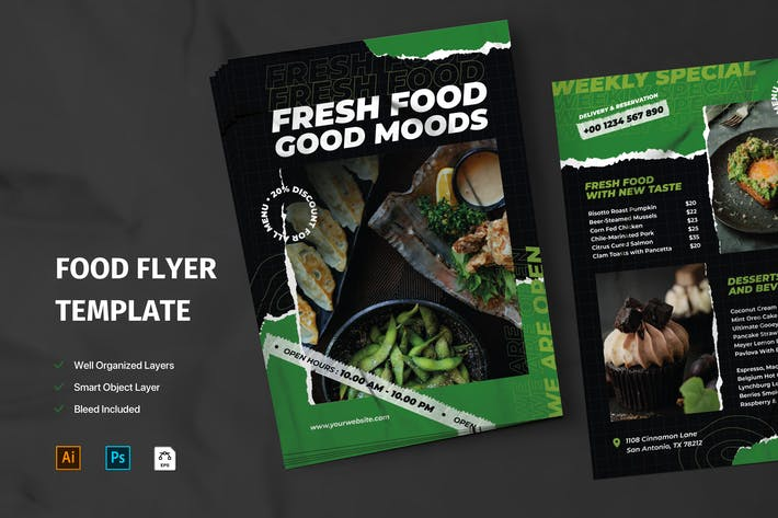 Thumbnail for Food Flyer