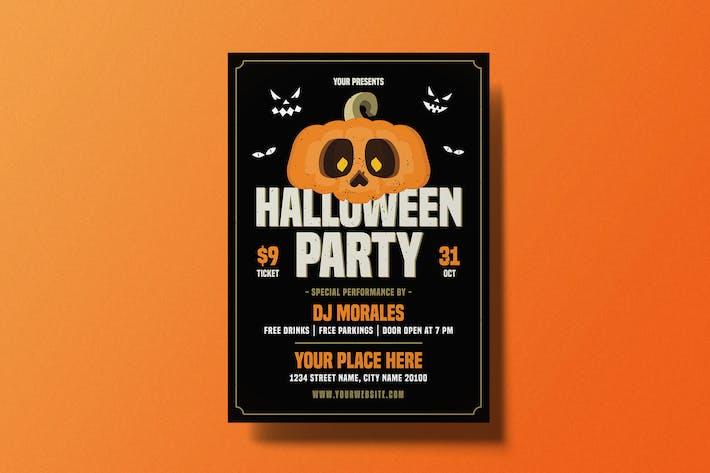 Thumbnail for dépliant ête d'Halloween