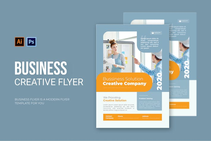 Thumbnail for Business Company - Flyer